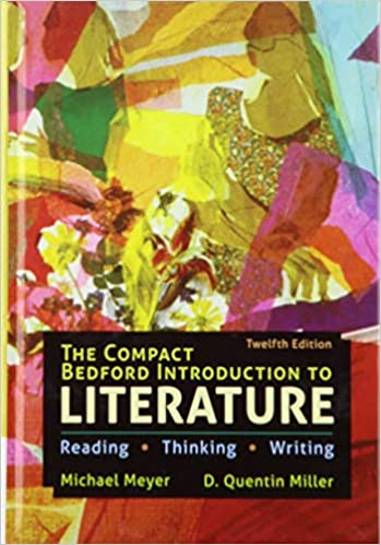 The Compact Bedford Introduction to Literature: Reading, Thinking, and Writing (Twelfth Edition) [2020] - Epub + Converted pdf