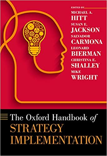 The Oxford Handbook of Strategy Implementation - Epub + Converted Pdf