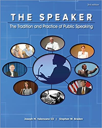 The Speaker: The Tradition and Practice of Public Speaking (3rd Edition) - Image pdf with ocr
