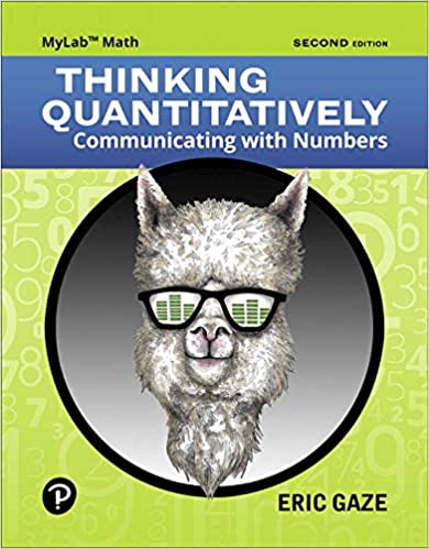 Thinking Quantitatively: Communicating with Numbers (2nd Edition) - Orginal Pdf