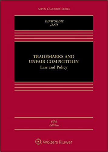 Trademarks and Unfair Competition: Law and Policy (5th Edition) [2019] - Epub + Converted Pdf
