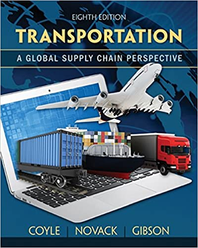 Transportation: A Global Supply Chain Perspective (8th Edition) - Original PDF