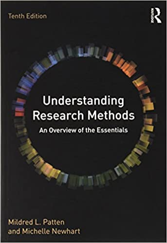 Understanding Research Methods An Overview of the Essentials (10th Edition) - Original PDF