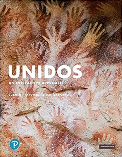 Unidos Classroom Manual An Interactive Approach (3rd Edition) [2019] - Original PDF