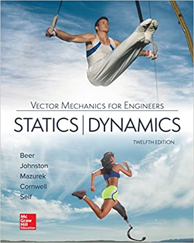 Vector Mechanics for Engineers: Statics and Dynamics (12th Edition) [2019] - Original PDF