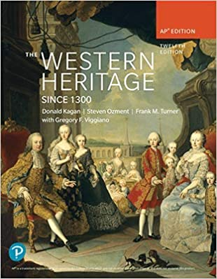 Western Heritage since 1300 AP Edition (12th Edition) [2019] - Original PDF