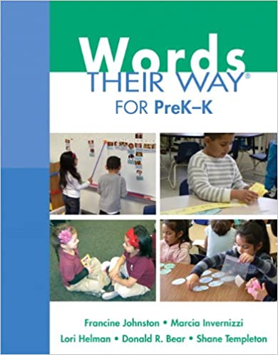 Words Their Way for PreK-K (Words Their Way Series) - Orginal Pdf