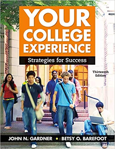 Your College Experience: Strategies for Success (13th Edition) - Epub + Converted Pdf