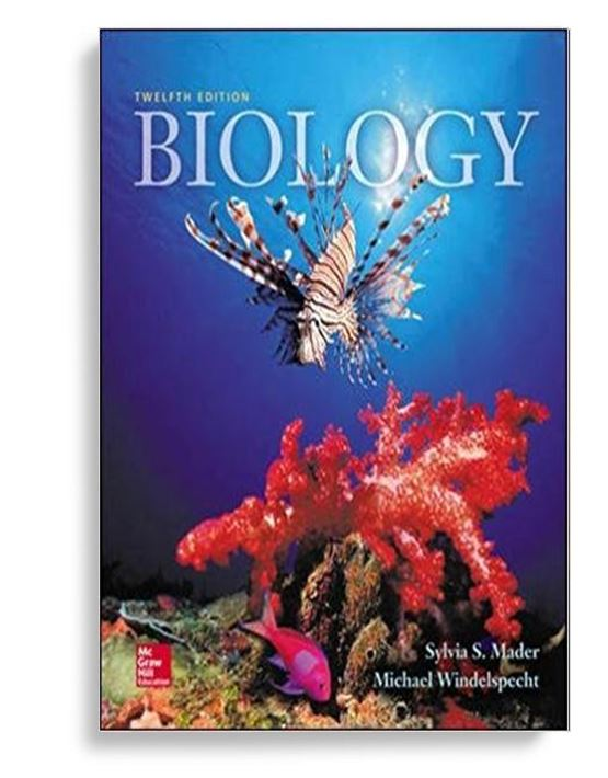 Biology 12th Edition By Sylvia S. Mader ( PDF EBook )