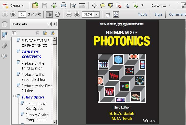 Fundamentals of Photonics, 2 Volume Set