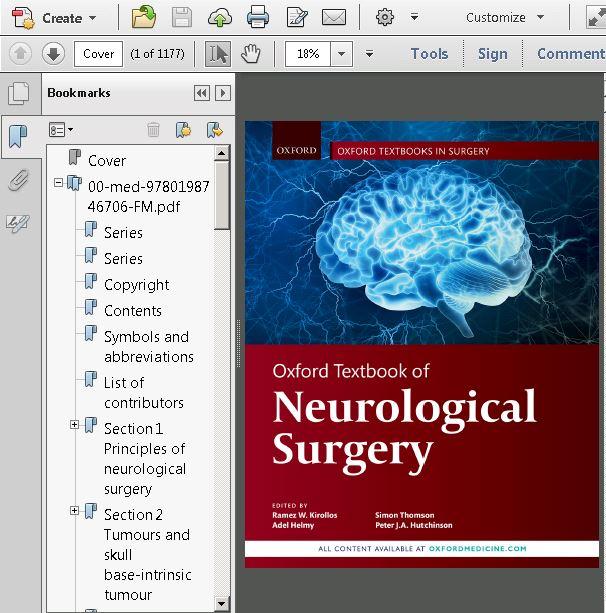Oxford Textbook of Neurological Surgery